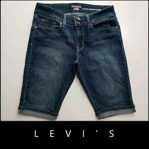 Levi's Woman Denim Modern Skinny Short Size 12